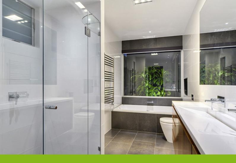 Thiết kế phòng tắm biệt thự hiện đại