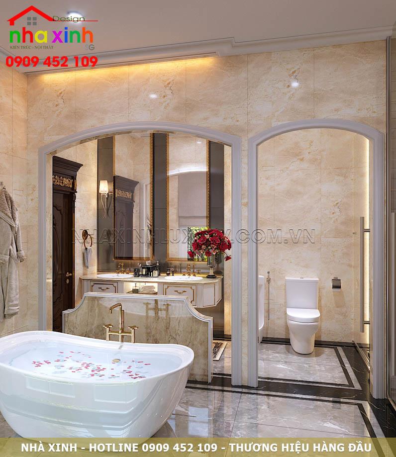 Ánh sáng phòng tắm