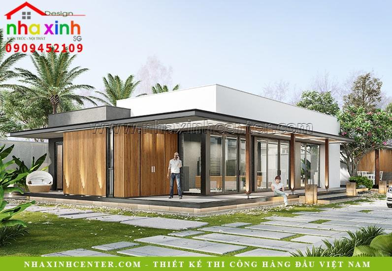 Đưa không gian xanh vào trong thiết kế biệt thự