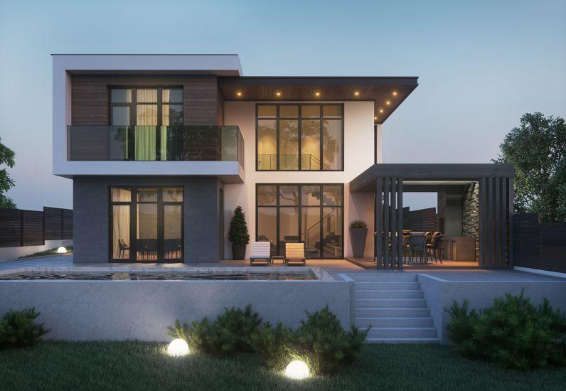 Mẫu biệt thự hiện đại đẹp